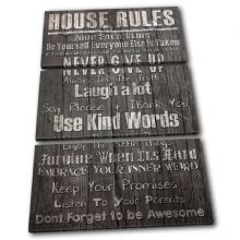 Home House Rules Typography - 13-2380(00B)-TR32-PO